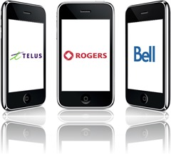 Rogers-Bell-Telus-iPhone